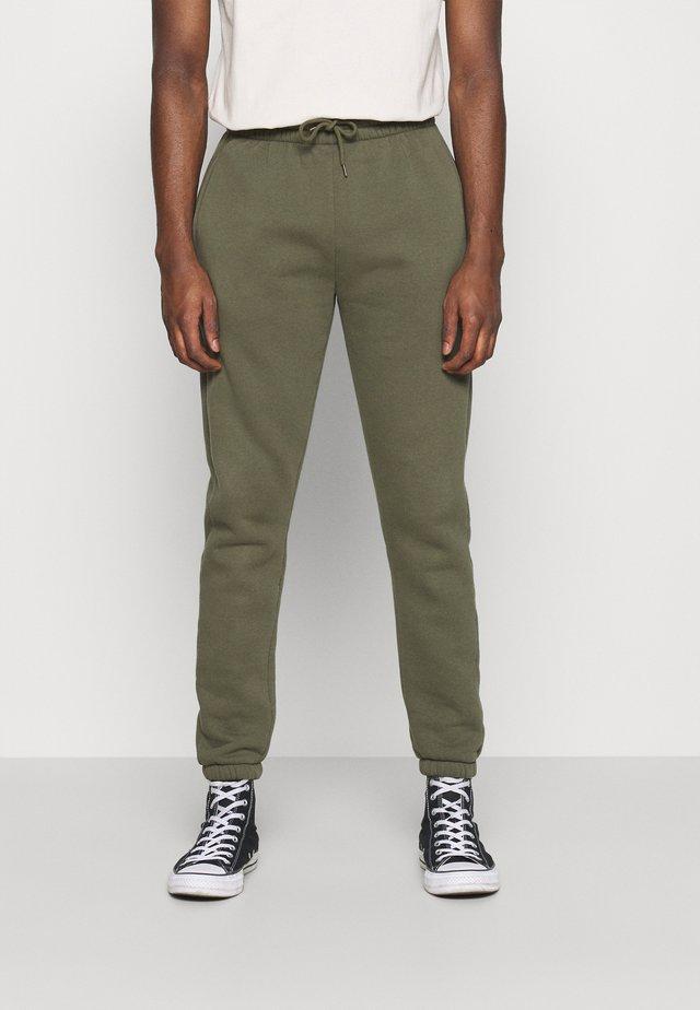GROWEL MITU - Teplákové kalhoty - army