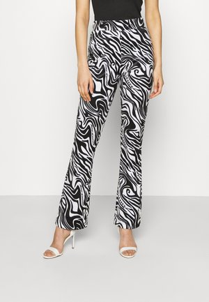 JOYPRINTED TROUSERS - Trousers - mono wave