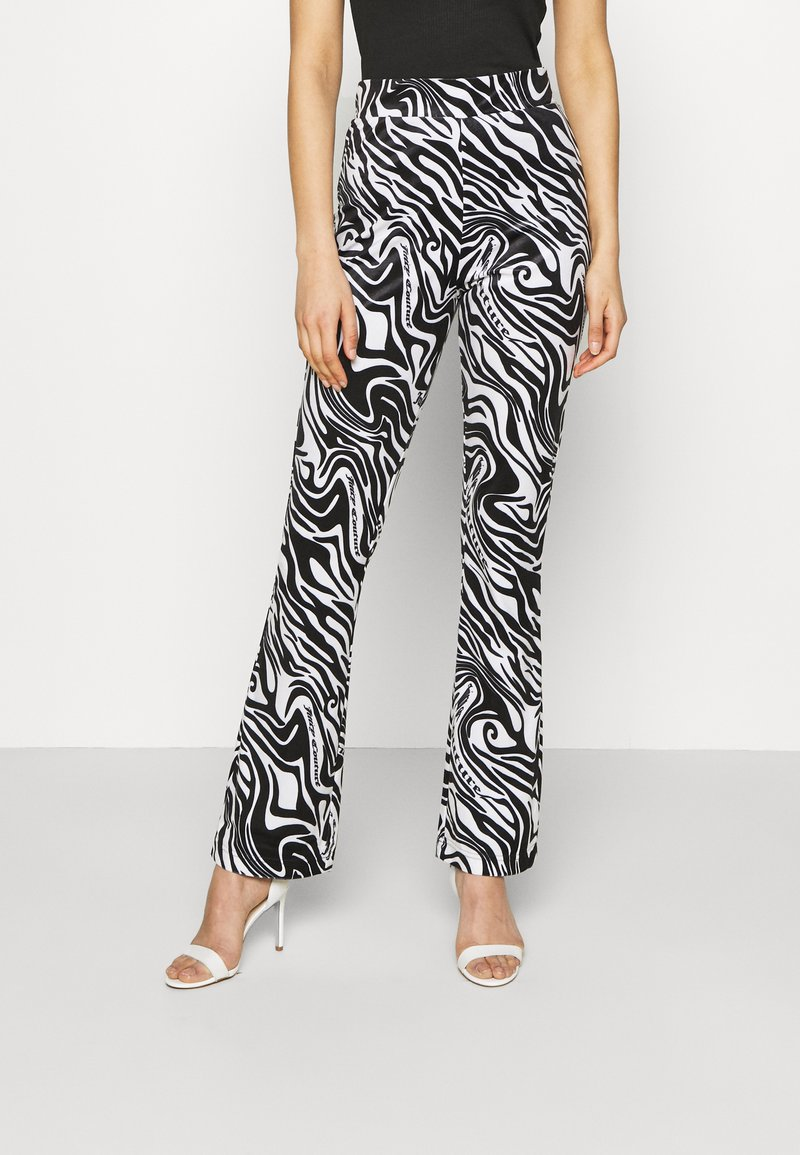 Juicy Couture - JOYPRINTED TROUSERS - Trousers - mono wave