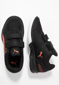 Puma - AURIZ - Sports shoes - black/nrgy red/white - 1