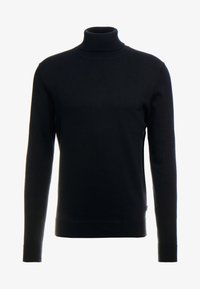 Jack & Jones PREMIUM - JPRFAST ROLL NECK  - Pullover - black - 5