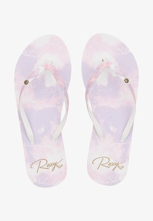T-bar sandals - lilac rose
