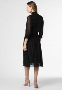 BOSS - Day dress - schwarz silber - 1