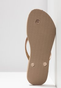 Havaianas - SLIM GLITTER - Pool shoes - rose gold - 6