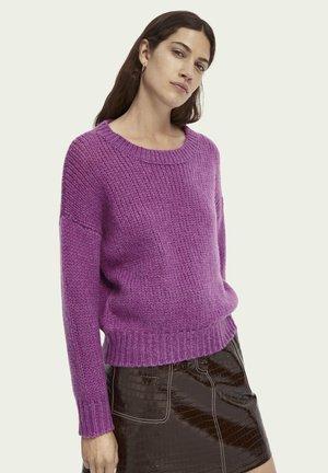 Jumper - dark violet