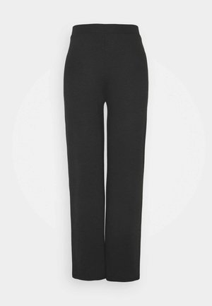 ONLFEVER WIDE PANTS - Bukse - black