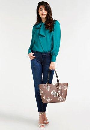 KAMRYN  - Handbag - mehrfarbig braun