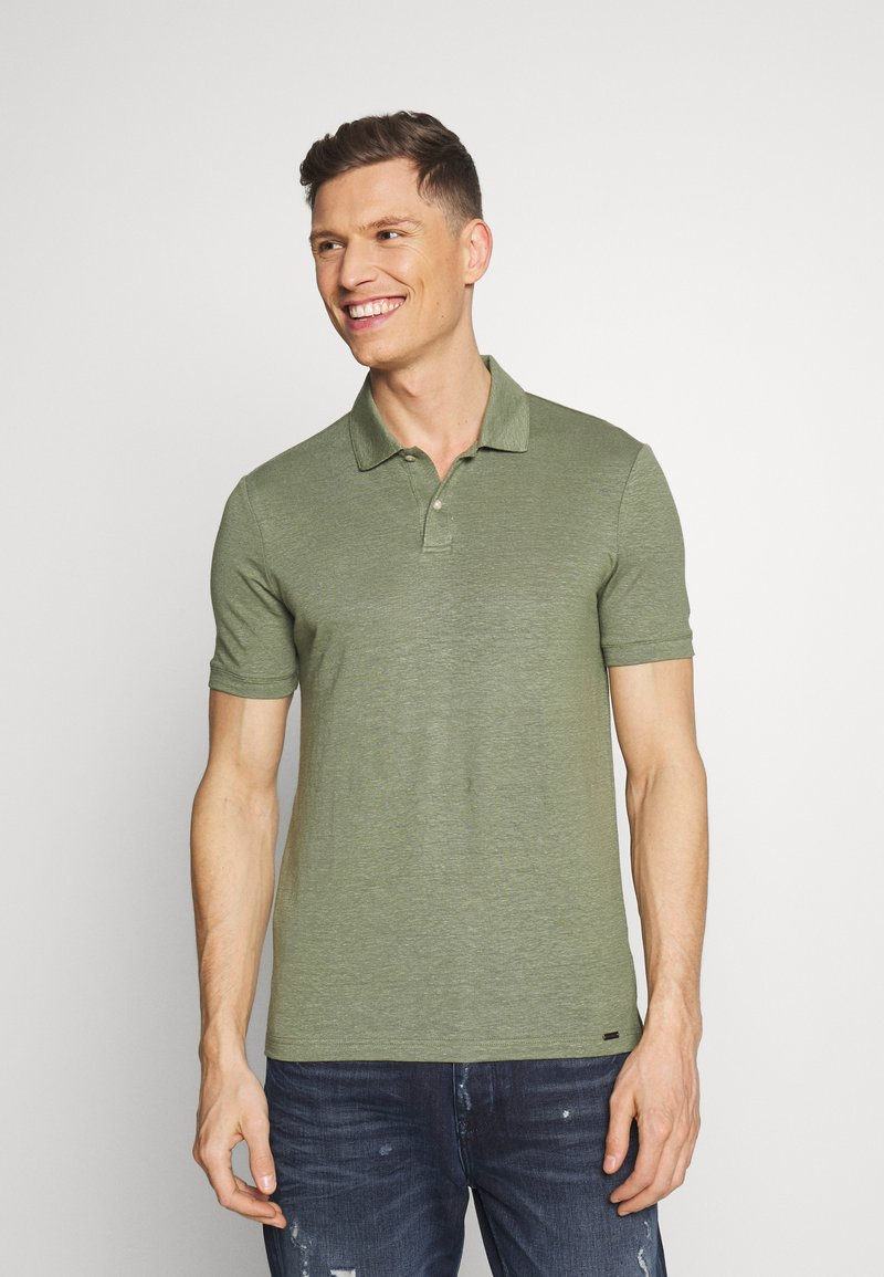 OLYMP - OLYMP LEVEL 5 - Polo shirt - graugrün