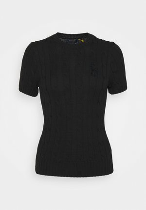 CLASSIC - Jednoduché triko - black