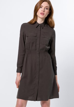 UTILITY-STYLE - Shirt dress - olive green