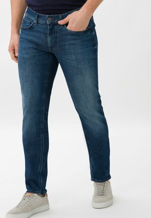 STYLE CHRIS - Slim fit jeans - steel blue used