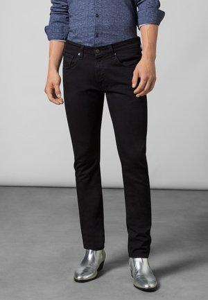 Slim fit jeans - black black rinsed
