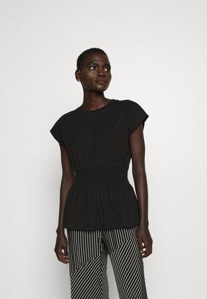 CARLA TEE - Basic T-shirt - black