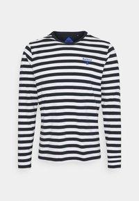Barbour Beacon - STRIPED TEE - Långärmad tröja - navy - 0
