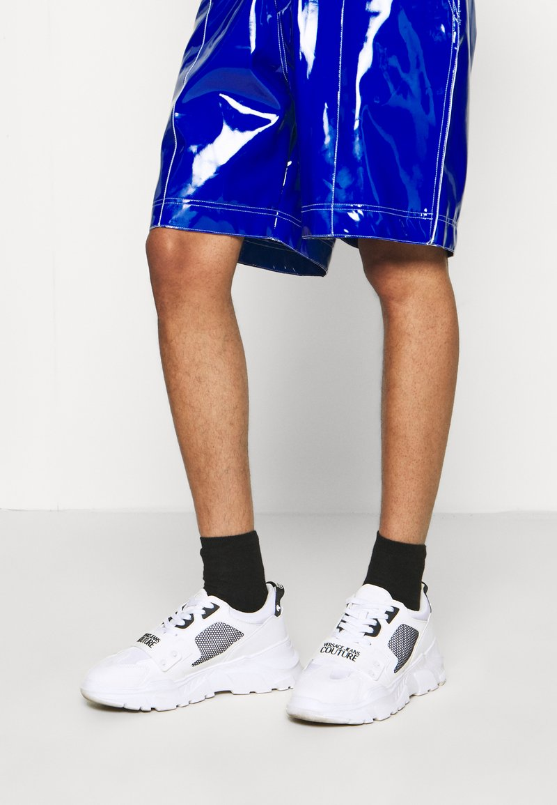 Versace Jeans Couture - SPEEDTRACK - Trainers - bianco ottico