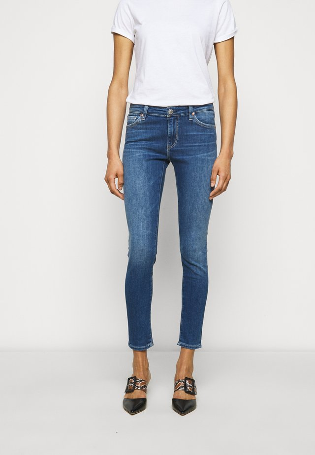 ANKLE - Jeans Skinny - blue