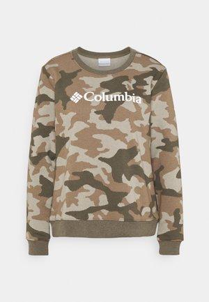 LOGO™ PRINTED CREW - Sweatshirt - stone green