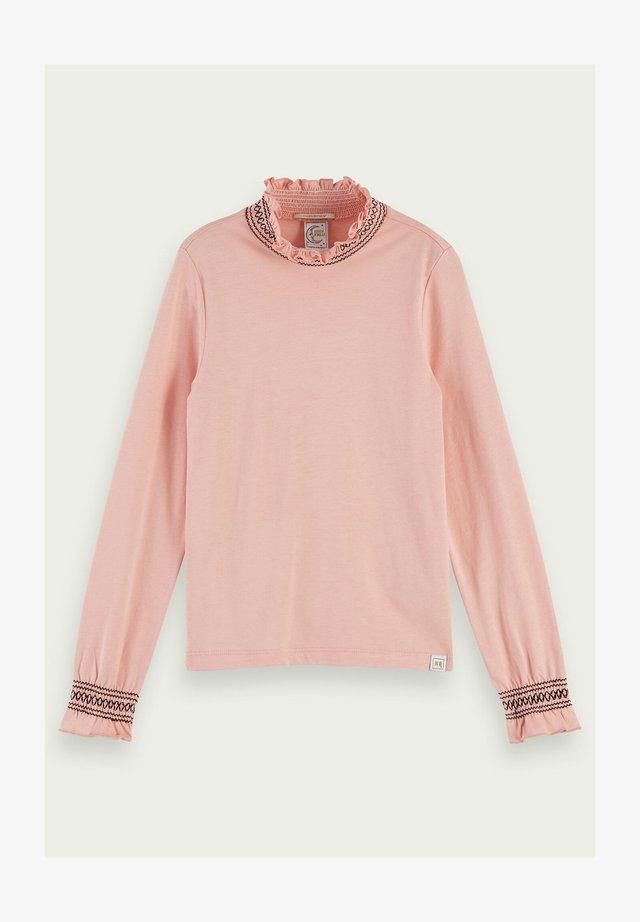 SMOCKED - Langarmshirt - blush