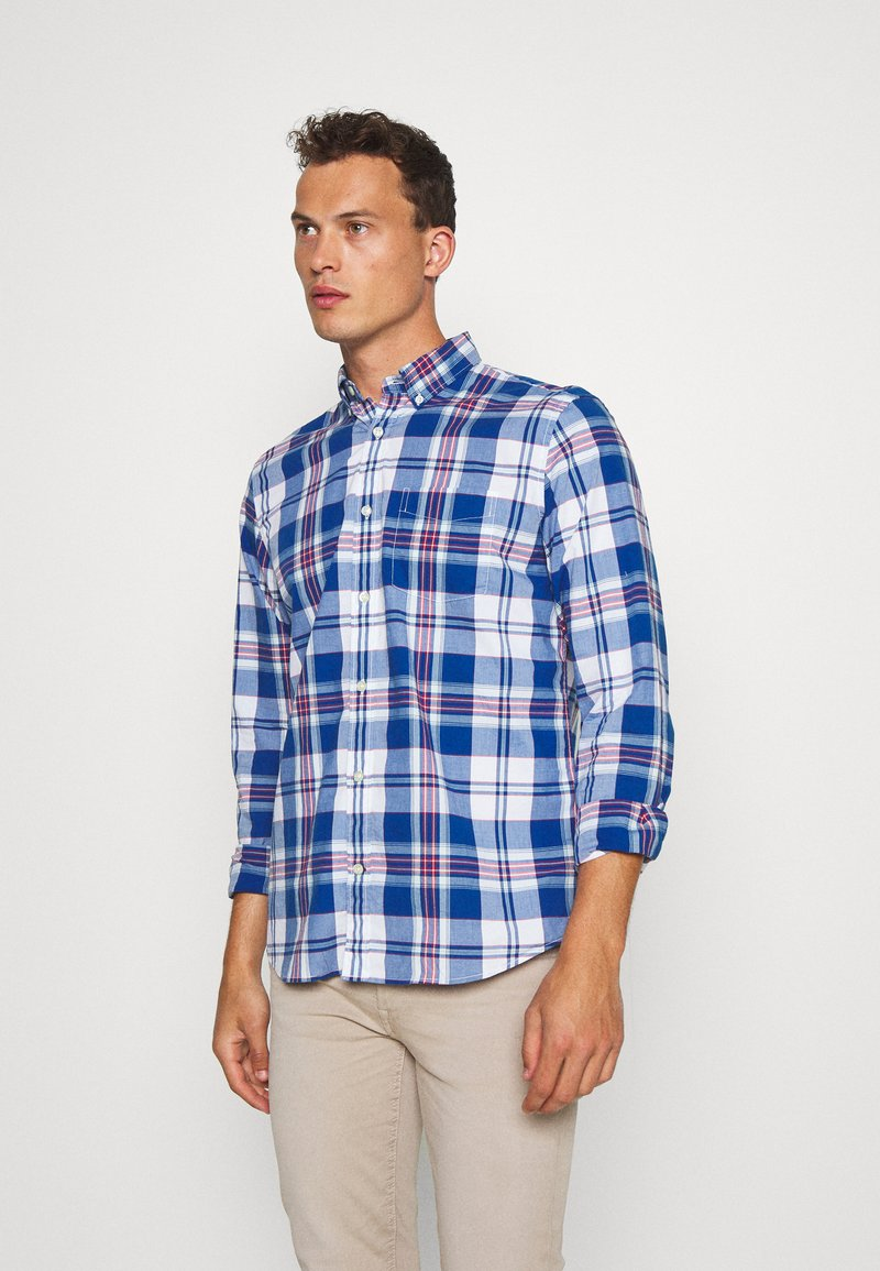 GAP - POPLIN SHIRTS - Shirt - plaid baltic blue