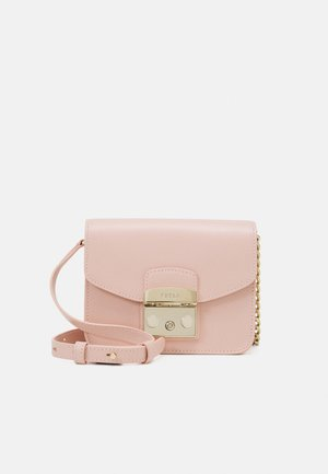 METROPOLIS MINI CROSSBODY - Across body bag - candy rose