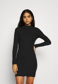 Even&Odd - Shift dress - black - 0