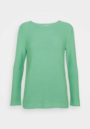 SWEATER NEW OTTOMAN - Svetr - soft leaf green