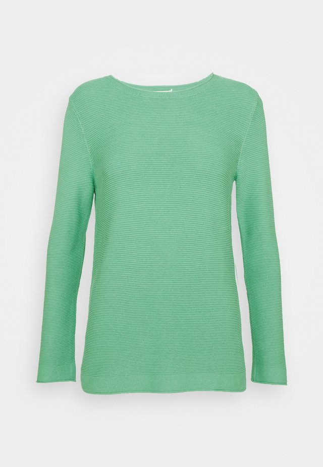 SWEATER NEW OTTOMAN - Sweter - soft leaf green