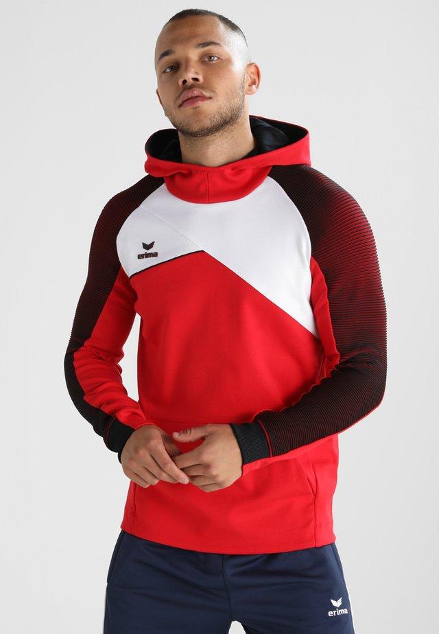 PREMIUM ONE 2.0 HOODY - Long sleeved top - red/white/black