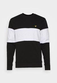 Lyle & Scott - LOGO - Sweatshirt - jet black