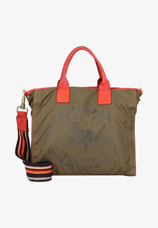 Handbag - v.militare+t/cotto+st.nero