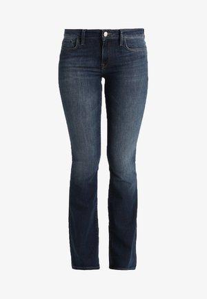 BELLA - Bootcut jeans - dark indigo