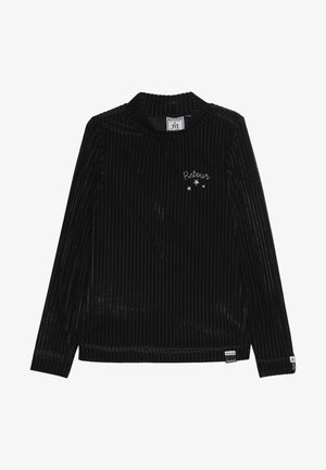 THAMAR - Long sleeved top - black