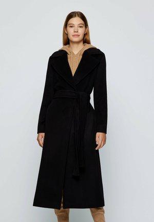 CASHANA - Classic coat - black