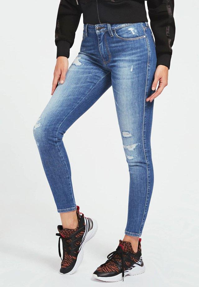 Jeansy Skinny Fit - bleu