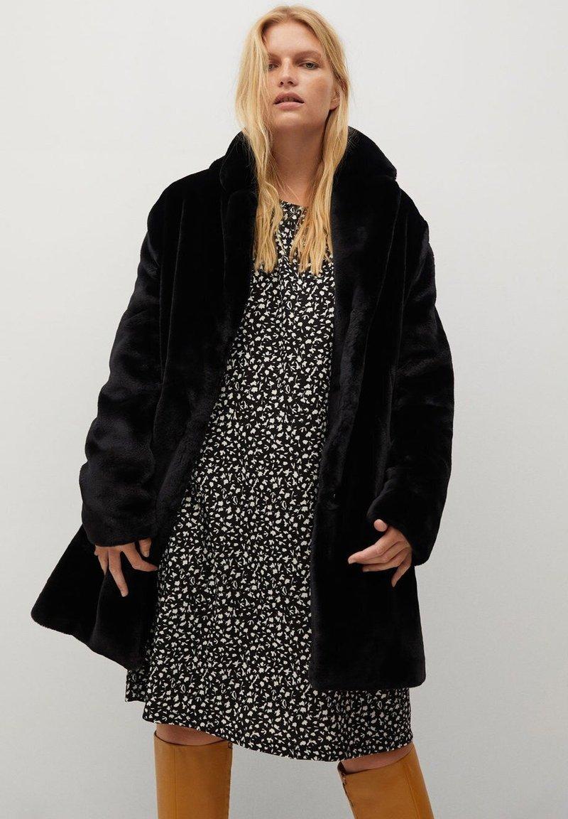 Violeta by Mango - OSO7 - Winter coat - schwarz