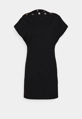 CROLLER - Jersey dress - black