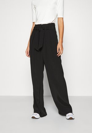 MELL - Trousers - black