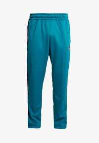 Nike Sportswear - PANT TRIBUTE - Tracksuit bottoms - geode teal/university red - 5