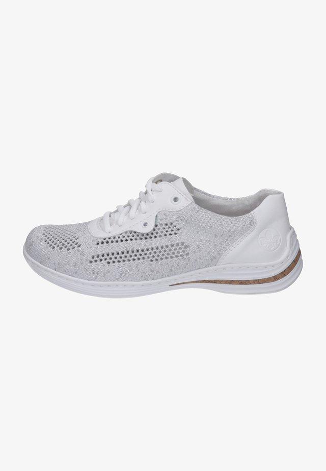 Zapatillas - white/silver/weiss