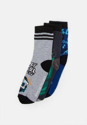 SOCKS 3 PACK - Ponožky - dark navy