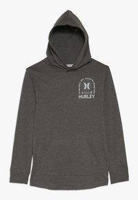 Hurley - HOOD PLAY PULLOVER - Hoodie - charcoal heather - 0