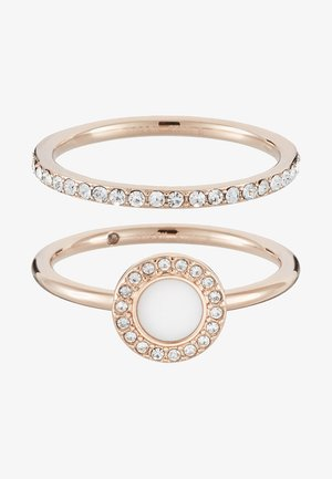 CLASSICS 2 PACK - Ring - rose gold-coloured