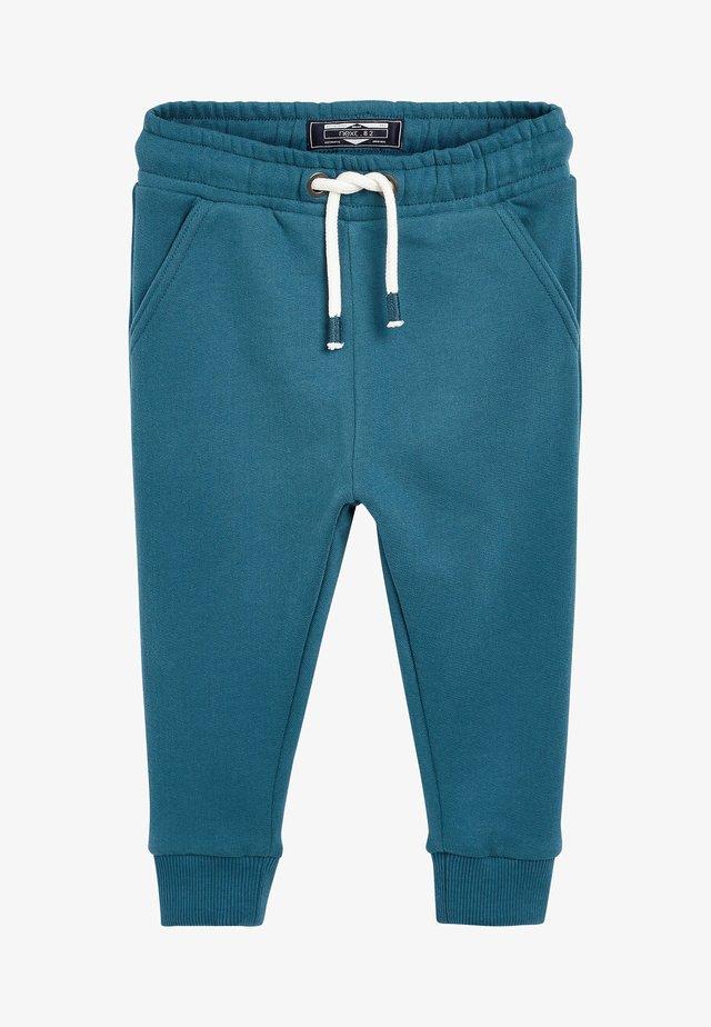 Tracksuit bottoms - mottled blue