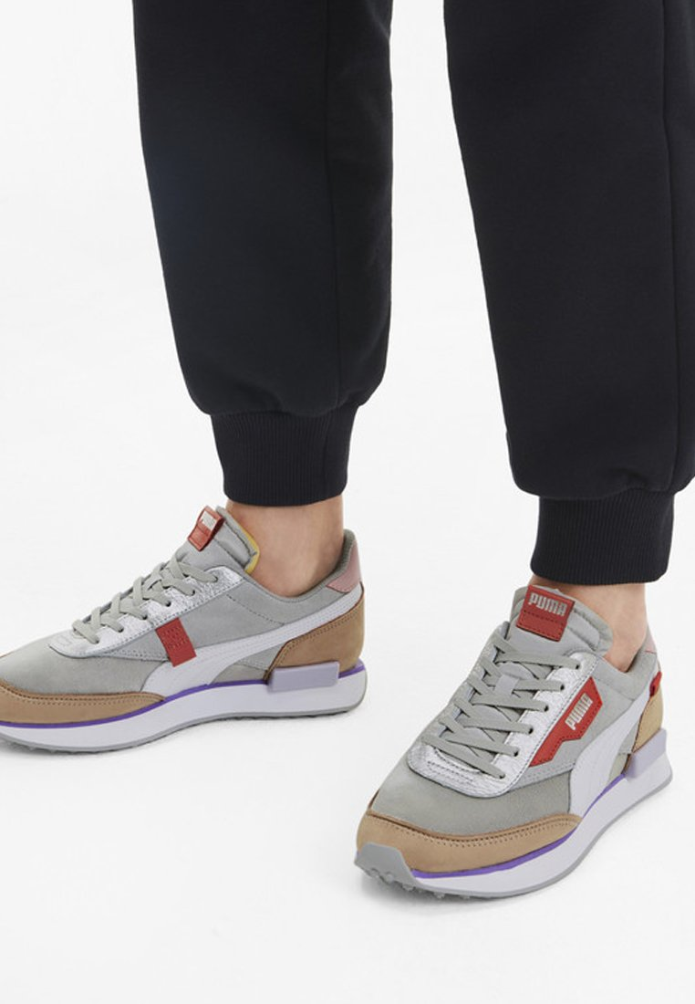 Puma - RIDER ROYALE  - Trainers - high rise-nougat
