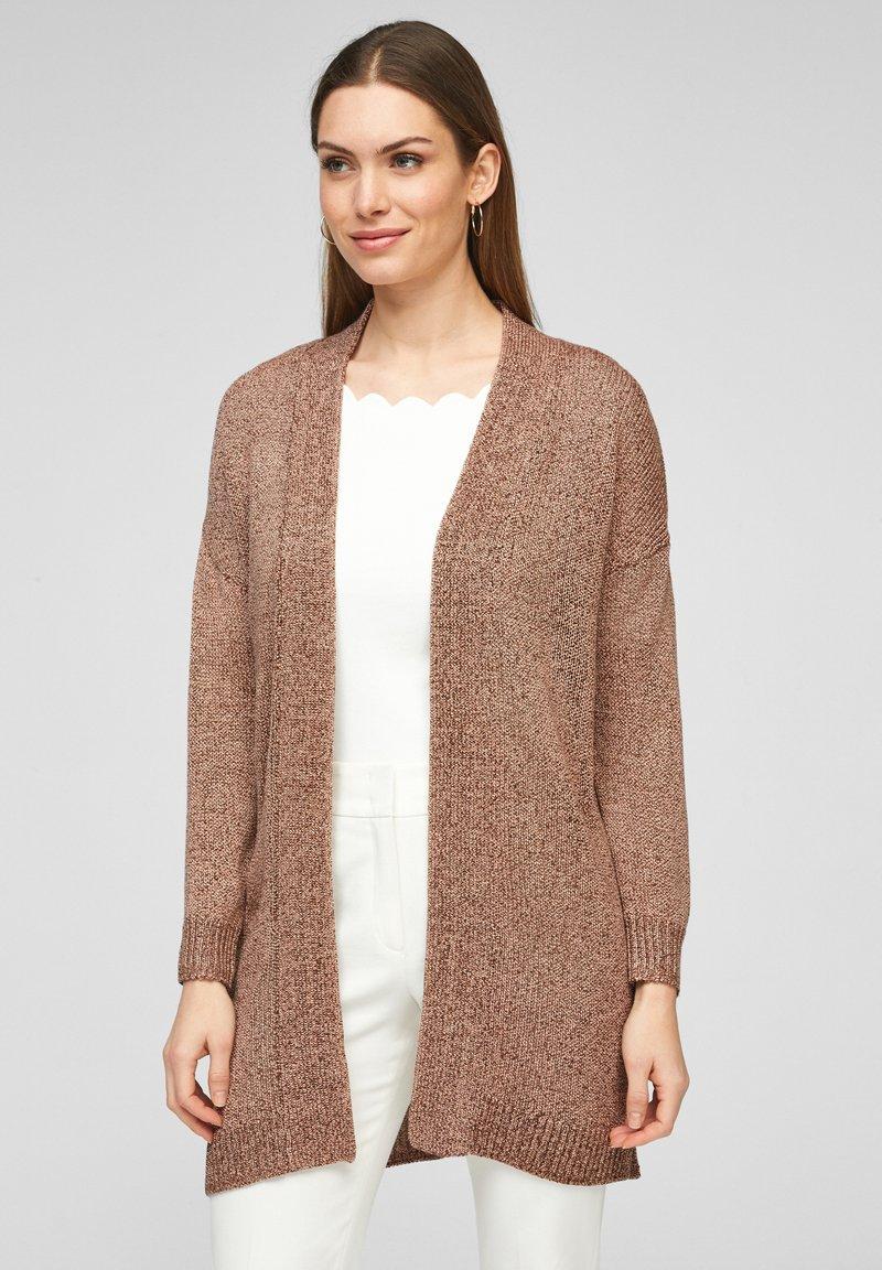s.Oliver BLACK LABEL - Gilet - spring rose knit
