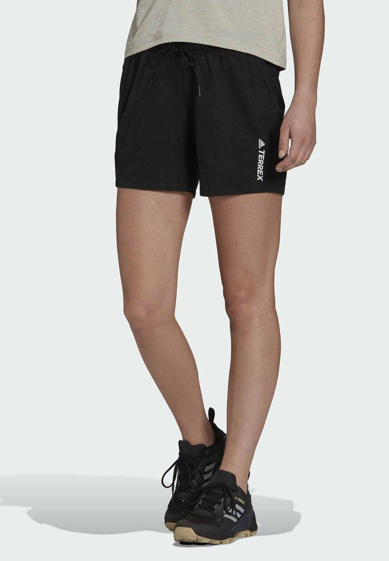 adidas Performance - TERREX LITEFLEX - Sports shorts - black