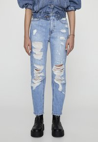 PULL&BEAR - Slim fit jeans - light-blue denim - 0