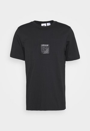 ICON TEE - Print T-shirt - black