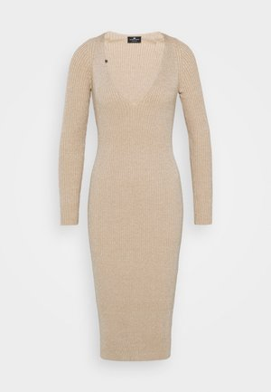 WOMAN'S DRESS - Jumper dress - champagne