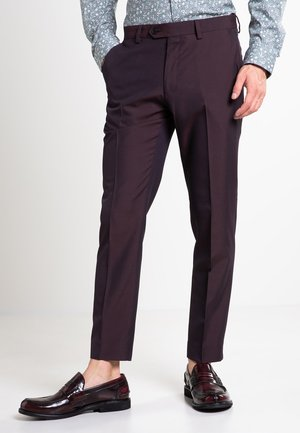 SLIM FIT - Pantaloni - purple